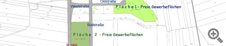 Freie Gewerbeflächen - Bitte klicken!