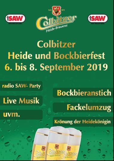 Colbitz feiert das 42. Heidefest